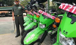 Sigap Kebakaran Hutan, Pemkot Bantu 10 Motor Trail untuk Kodim