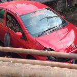 Dikejar BNN, Mobil Terduga Bandar Narkoba Masuk Parit