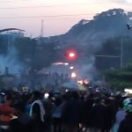 Polisi Bubarkan Mahasiswa di Samarinda Pakai Gas Air Mata