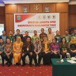 Orientasi DPRD se-Kaltim: Menambah Ilmu dan Saling Mengenal