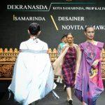 Padukan Sarung Samarinda dengan Lurik, Tampil Menawan di Kriya Nusa