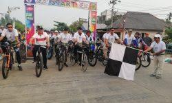 Gowes Nusantara dipimpin Muharram Agus