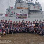 Polres Nunukan Kampanyekan Anti Narkoba di Atas Kapal Perang