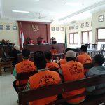 Bawa Sajam, Rahman Diganjar 9 Bulan Penjara