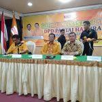 Partai Hanura di Kaltim Kompak Dukung OSO, Pecat Kader Bermasalah