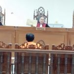 Tidak Terima Dituntut 2 Tahun Bui, Achmad Ditegur Hakim