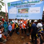 Pembangunan Jembatan Sangatta Utara – Selatan Rp35 M Dimulai