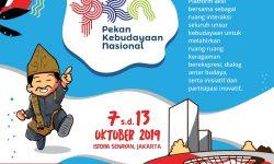 7-13 Oktober, Pekan Kebudayaan Nasional Jadi Ruang Bersama Indonesia Bahagia