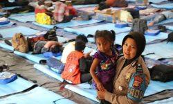 Wamena: Sejumlah Pengungsi Mengatakan 'Enggan Kembali'