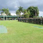 Jelang Pelantikan Presiden dan Wakil Presiden, Prajurit Korem 091/ASN Disiagakan