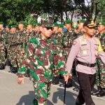 TNI-Polri Gelar Apel Pengamanan Pelantikan Presiden dan Wakil Presiden