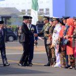 Presiden Jokowi: Rakyat Bangga Kepada TNI Selalu Terdepan Dalam Menjaga NKRI