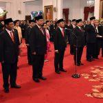 Inilah Pembagian Tugas dan Koordinasi Menteri Koordinator Kabinet Indonesia Maju