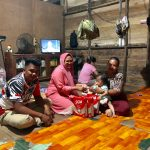 Anggota DPRD Asal Sebatik, Hj Nadia Bantu Balita Nurfatiha