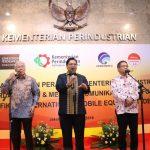 Perangi Ponsel Ilegal, Tiga Menteri Teken Aturan Bersama