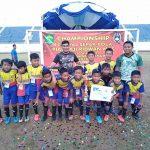 Sepak Bola, Aji Ridwan Mas Kaget dengan Potensi Anak anak Kaltim
