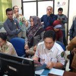 Anggota DPRD Nunukan Sidak Pelayanan di Disdukcapil