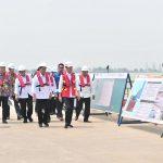 Presiden Jokowi Sebut Progres Pembangunan Pelabuhan Patimban Bagus dan Sesuai Harapan