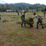 Kompaknya TNI Bersama Tentara Malaysia di Perbatasan