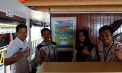 Ajak Cegah Penyalahgunaan Narkoba, BNN Pasang Stiker & Poster di Kapal Wisata