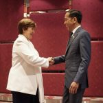 Presiden Jokowi dan Managing Director IMF Bahas Ekonomi