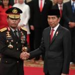 Dilantik Presiden Jokowi, Jenderal Pol. Idham Azis Resmi Jadi Kapolri