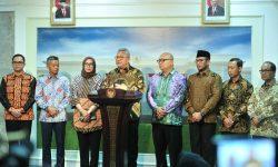 Bertemu Presiden Jokowi, KPU Laporkan Evaluasi Penyelenggaraan Pemilu