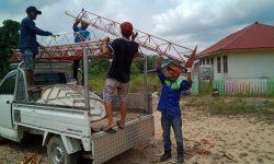 Tower Mikro BTS Dibangun di Kampung Long Ayan