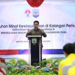 Gubernur Senang Anak Muda Kaltara Memiliki Optimisme Tinggi untuk Kemajuan