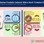 Triwulan III-2019: Produksi Industri Mikro dan Kecil di Kaltim Meningkat 14,59%