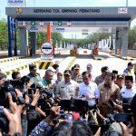 Tugas Kepala Daerah Sambungkan Jalan Tol ke Kawasan Produksi dan Wisata