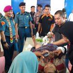 Masyarakat Serbu Baksos Pengobatan Umum TNI AL di Sebatik
