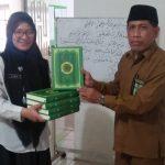 Kanwil Kemenag Sumbang 5 Al-Quran ke Rumah Damping BNNP Kaltim