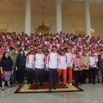 Presiden Jokowi Berharap Indonesia Masuk 2 Besar Sea Games 2019