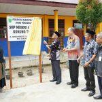 Bupati Resmikan SMPN 4 Gunung Tabur di Kampung Tasuk