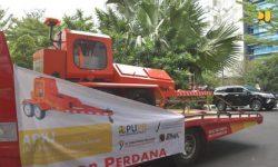 Kementerian PUPR Ekspor Perdana Alat Pengukur Kekuatan Jalan ke Timor Leste