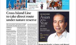 The Straits Times Singapura Pilih Presiden Jokowi Sebagai 'Asian of the Year 2019'
