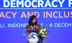 Indonesia Dorong Perwujudan Demokrasi Inklusif di BDF Ke-12
