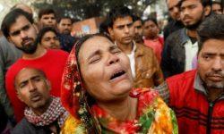 Pabrik di India Terbakar Saat Pekerja Tidur, Puluhan Orang Tewas
