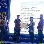 Pemprov Kaltara Terbaik dalam Koorsup Pencegahan Korupsi