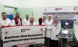 Yayasan NPC – Kedubes Yordania Serahkan Bantuan Alkes ke Medical Center Gaza