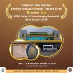"Bandara Tanjung Selor Runner Up ""Best Airport 2019""  Kelas III Komersial"