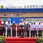 Presiden Jokowi Resmikan Jalan Tol Balikpapan-Samarinda, Seksi II, III, dan IV