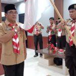Nanang Jahari Ketua PGRI dan Suriansyah Ketua Pramuka Kaltara