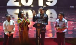 Saat Presiden Jokowi Mencontohkan Persahabatan Gus Dur dan Romo Mangun