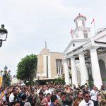 Presiden Jokowi Tinjau Rehabilitasi Pasar Johar dan Revitalisasi Kota Lama, Semarang