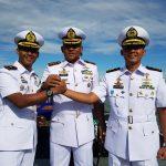 Dansatkat Koarmada II Pimpin Sertijab Komandan KRI Layang 635