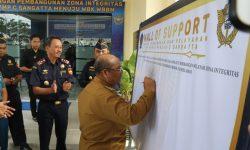 Kantor Bea Cukai Sangatta Canangkan Zona Integritas