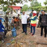 Bupati Tinjau Pembangunan Turap RT 6 Gunung Tabur