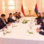 Presiden Jokowi dan Presiden Armenia Bahas Kerja Sama IT dan Bebas Visa